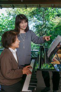 シニアのピアノレッスン